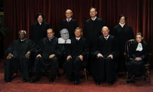 The spirit of 'Bull Connors' shows up with SCOTUS for a rare photo op. Courtesy of the NSA.
